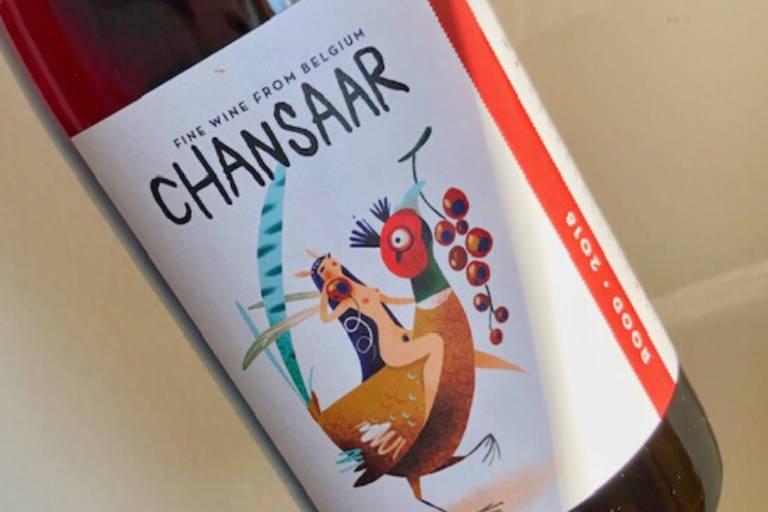 Chansaar Red 2017 Wijnfaktorij Patrick Nijs Urban Boutique Winery