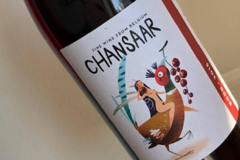 Chansaar Red 2018 Wijnfaktorij Patrick Nijs Urban Boutique Winery